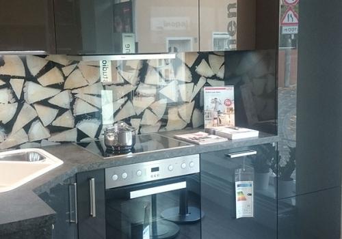 Küchenstudio Vinopal – Schüller Küche Lavaschwarz